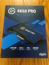 Elgato 4K60 Pro Game Capture Card; New, on-hand, ready to ship