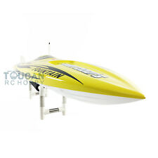 E36 PNP Electric Brushless Motor 120A ESC Fiber Glass RC Racing Boat Yellow