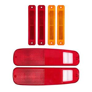 Tail Light Lens & Side Fender Kit For FORD F150 F250 E150 Truck 78-79 Bronco