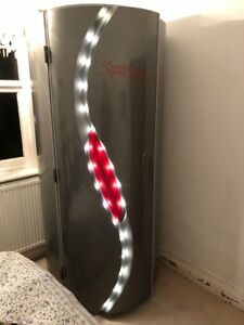 Tansun SYMPHONY STAND UP SUNBED With 48x EU 0.3 Tubes - SPECIAL EDITION