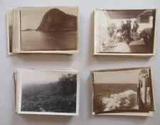 Lot 110 Photos Voyage en Bateau Quelques Photos Brésil ? Argentine Vers 1920