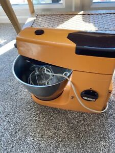 Retro Kenwood Chef Orange and Brown fully working