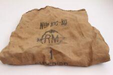 Antiquitäten & Kunst Sonstige Symbol Der Marke Alter Leinensack 61x130 Cm Mit Aufdruck