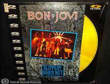 BON JOVI - SLIPPERY WHEN WET The Videos (LASERDISC) Laser disc