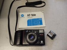 Minolta AF-Tele, Minolta Lens standard 38mm, telephoto 60mm,22112322