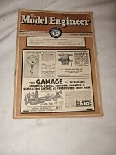 An Early Issue of The Model Engineer Magazine Jan 20th 1938 Vol 78 No 1915