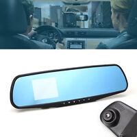 "2.8"" HD 720P Dash Cam Video Recorder Rear view Car Mirror Camera Vehicle DVR XI"