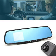 "2.8"" HD 720P Dash Cam Video Recorder Rear view Car Mirror Camera Vehicle DVR TL"