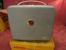 Clean Vtg Kodak Brownie 500 Movie Projector 8mm w/Original Box & Movie Light