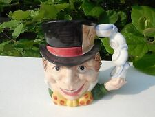 Fitz and Floyd China Mad Hatter Toby Mug 1992