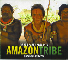 Bruce Parry Presents Amazon Tribe Songs For Survival CD Magne F A-ha Coldplay