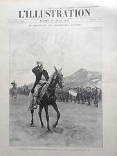 L'ILLUSTRATION 1897 N 2842 LE PRESIDENT FELIX FAURE SUR LE PLATEAU DU MONT FROID