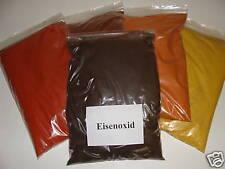 1 Kg Eisenoxid schwarz Farbpigmente für Beton + Wand, Fe3O4