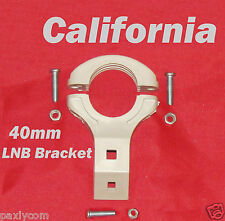 Single 40mm LNB Bracket Holder Mount Satellite FTA  Dish Antenna LNBF