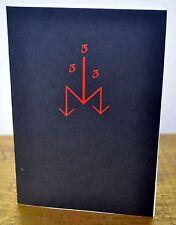 333 - Tempel Ov Blood IXAXAAR E A Koetting Satanic Order of Nine Angles Rare