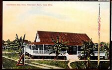 CABLE OFFICE FISHERMAN'S POINT GUANTANAMO BAY CUBA Postcard ca.1911