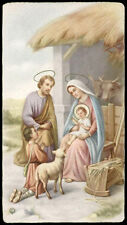 "santino-holy card""""ediz. NB  n.177 NATIVITA'"
