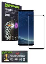 KRYPTONITE Protector de Pantalla de Vidrio Templado para Galaxy S8
