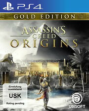 Assassin's Creed Origins - Gold Edition (Sony PlayStation 4, 2017)