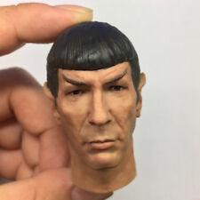 1/6 Scale Spock Head Sculpt Star Trek For 12'' Action Figure Body Hot Toys