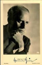 Werner Hinz Ross A 3284/1  signiert, Autogramm