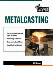 Metalcasting Book~Detailed Info~Sandcasting~Molds~Techniques~Patterns~More~NEW