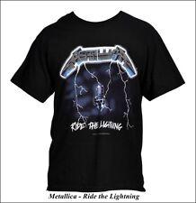 Metallica - Ride the Lightning - T-Shirt, Größe: L - *KULT*