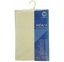 "15.5/"" X 17.5/"" X 45 39cm. RTO /""Aida cross stitch tela crudo Conde 14"