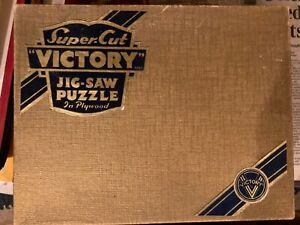 ST JAMES'S PARK, LONDON      GOLD BOX WOODEN VICTORY PUZZLE 600pcs COMPLETE