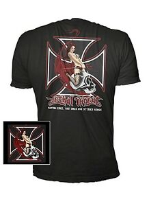 New Lethal Threat Skull Rider T shirt size MEDIUM