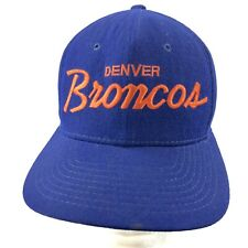 Vintage 90's Sports Specialities Snapback Hat Denver Broncos The Pro Wool