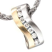 Diamant-Echtschmuck-Halsketten & -Anhänger für besondere Anlässe
