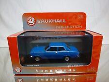 VANGUARDS VA08703 VAUXHALL VIVA SL - PEACOCK BLUE 1:43 - EXCELLENT IN BOX