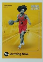 2019-20 Panini Hoops Arriving Now Coby White Rookie RC #16, Chicago Bulls
