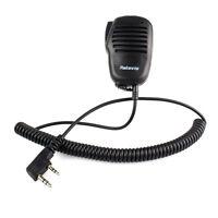 RETEVIS 2 PIN Mini PTT Speaker MIC für KENWOOD PUXING WOUXUN TYT BAOFENG Radio