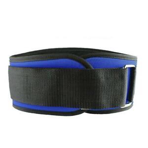 Foam Core Weight Lifting Belt Fitness Waist Belt Bodybuilding A3H8 Trai K8Y8