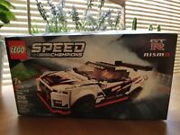 LEGO® Speed Champions - Nissan GT-R NISMO 76896 Brick (298 Pcs) unopened Box