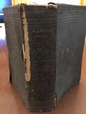 La sacra bibbia - Vecchio E Nuovo Testamento - Trad. A. MARTINI - 1898 - Rara
