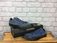 CONVERSE UK 7 EU 41 ALL STAR LO NAVY SUEDE TRAINERS CHUCK TAYLOR