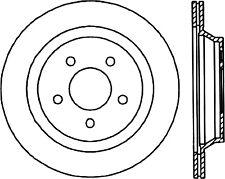StopTech Disc Brake Rotor-SVT Cobra Rear Centric for Ford Mustang # 125.61046