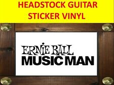 ERNIE BALL MUSIC MAN AUFKLEBER STICKER GUITAR PRODUCT ON SALE UNTIL END OF STOCK