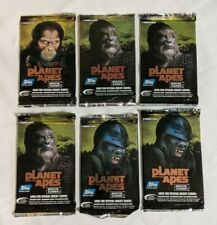 2001 Topps Planet of the Apes 5 Sealed Pack Lot