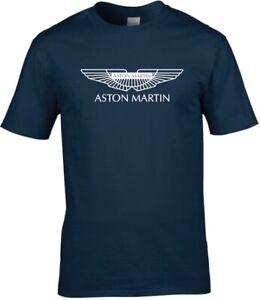 Aston Martin Car Logo Premium cotton T-shirt