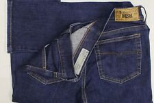 Diesel Straitzee stretch regular slim straight blue jeans W28 L32