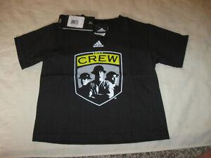 Columbus Crew TShirt New W/Tags Addias 3T Toddler Kids Boys Youth COL MLS Soccer