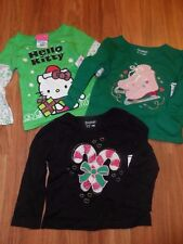 lot of 3 girls tops & tights ~ Hello Kitty  holiday  ~  18 months NWT