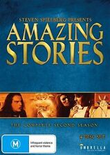 Steven Spielberg Presents Amazing Stories : Season 2 (DVD, 2016, 4-Disc Set)