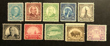 TDStamps: US Stamps Scott#692-701 (10) Mint NH OG