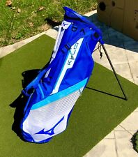 MIZUNO Golf Men's Stand Caddy Bag K1-L0 9 x 47 inch 1.4kg White Navy 5LJC202900