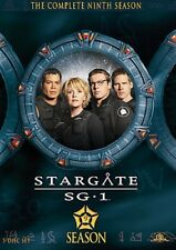 STARGATE SG-1 THE COMPLETE NINTH SEASON 9 New Sealed 5 DVD Set